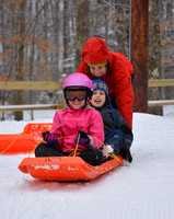 Blackwater Falls Sled Run Opening