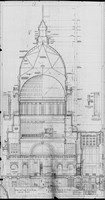 half section through dome